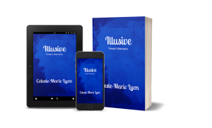 Tablet and book image for Illusive: Friends & Adversaries
