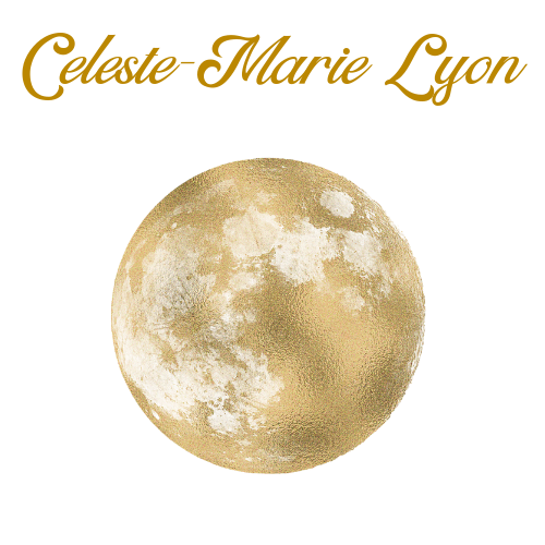 Clear moon logo for Celeste-Marie
